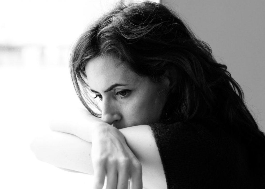essure sad woman